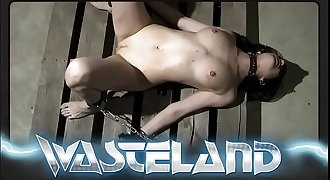 Domination & submission Babe With Ropes Toys Mask and Spankings