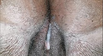 MY AUNTS HOT WET PUSSY GETS FUCKED THEN FARTS OUT MY CUM AFTER HUGE CREAM PIE
