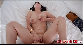 Hot PAWG Teen Stepsister Fucked By Her Stepbrother