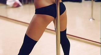 my beautiful girl Natalie. pole dance