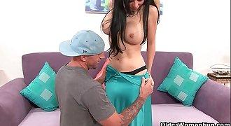 Busty milf Francesca Leon gets the cock treatment