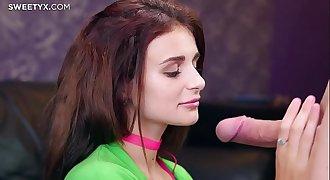 Kate Rich skinny teen anal fucked by Jean-Marie Corda