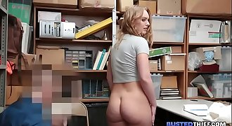 Big Booty Teen Fucked For Stealing
