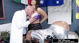 Ski Hill Medical Duo Loves to Fuck Patients - Alison Tyler, Phoenix Marie