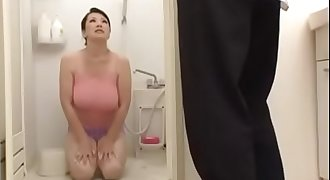 Busty Japanese Mom And Young Sons