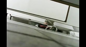 under stall toilet voyeur 2
