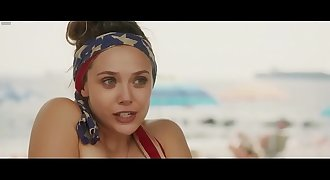 Elizabeth Olsen & Dakota Fanning - Naked Swimming & Hot Underwear - Very Good Girls (2013)