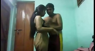 Indian hot big boobs teen college girl fucked by neighbour secretly in her home