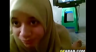 Arab Girl In Hijab Sucks My Cock