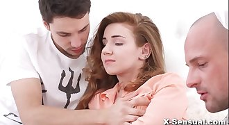 X-Sensual - Threesome pleasantries Melissa Grand