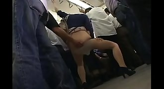 Pretty Asian women were molested on the bus B - Pt2 On HDMilfCam.com