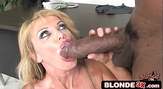 Interracial Monster Shaft Cumshot Compilation #8 - MILF Edition