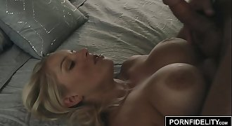 PORNFIDELITY Vanessa Cage Titty Fucked and Facialed