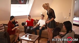 HITZEFREI Blonde German babe Helena Moeller drilled deep