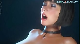 Anime Babe In Virtual Fuck Dream - Uncensored At WWW.HENTAIXDREAM.COM