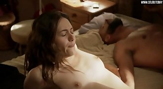 Emmy Rossum  - Fucking an older black man, Topless - Shameless s07e05