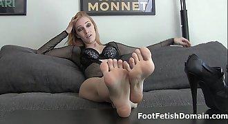 Worship Jordana Leigh's sexy feet