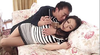41Ticket - Ruri Hayami Coerced into Lovemaking by Husband's Friend (Uncensored JAV)