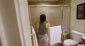Kristen Scott Gets Fucked In The Bathroom