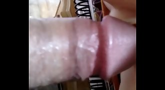 Nasty Cum Shot From A Micro Penis Fucking Pussy And Pouch Of A Sex Toy