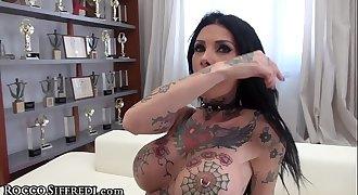 RoccoSiffredi Tattoed Mega Sluts Dual Anal Reaming!