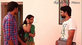 Village Girl Bachlor boy Romance --  Telugu Romance Brief Film - By MKJ