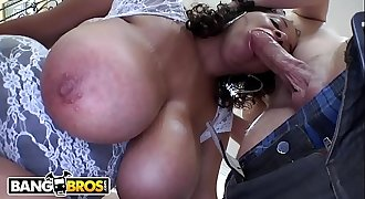 BANGBROS - Big Tits Black Babe Selena Star Has An Amazing Assets