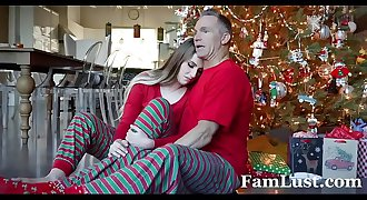 Christmas Morning Sex With My Stepdad - FamLust.com