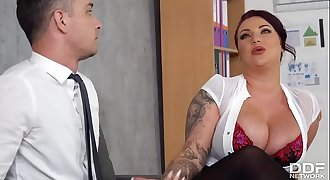3886 Make Your Work Funny With Huge Boobs Free HD Porn