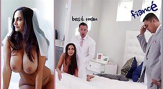 BANGBROS - Big Tits MILF Bride Ava Addams Fucks The Best Man