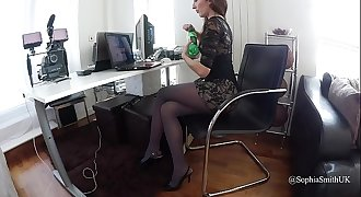 Duo Tights Pantyhose Clip Sophia Smith 11