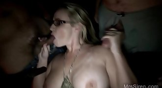 Wife's an Adult Theater Sex Toy