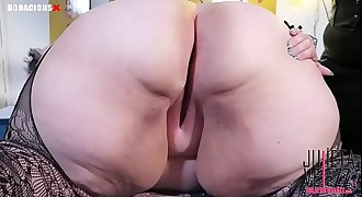 Mistress Delicious Puts My Kitty Butt Plug Tail In