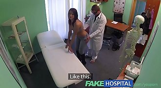 FakeHospital Gorgeous youthfull pole dancer with hot body swallows the doctors medicine
