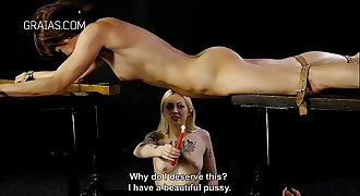 Tit caning and other punishments