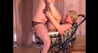 granny fuck in old stroller