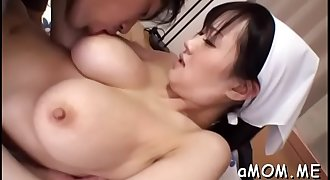 Needy mother i'd like to fuck widens legs for asian cock in supreme home video