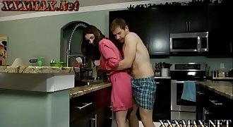 Molly Jane in horny son forced stepmom taboo
