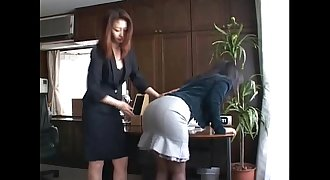 172 Spanking whipping for over due bills