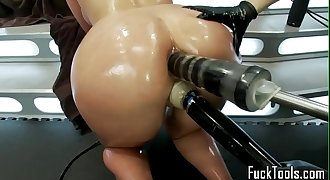 Pussy licking lesbians fist and toy pussy
