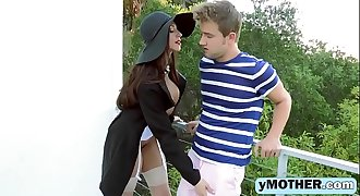 His girlfriend does not turn him on as that babes hot momer-big-1080-1