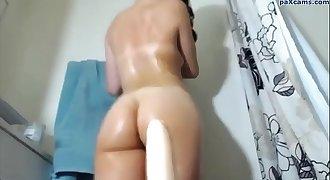Chroniclove rides a dildo with butt butt-plug up her asshole paxcams.com