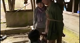 Captured dude gets a handjob from 2 Asian woman - Pt2 On FilfCam.com